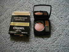 Chanel powder blush compact pink veil  Jouse Contraste unused makeup