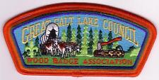 Great Salt Lake Council SA-113 2002 Woodbadge Assn. CSP Mint Cond FREE SHIPPING