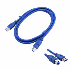 1.5M USB 3.0 Cable Male A To USB Male B Extension Cable For Printer PC HUB Blue