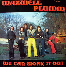 "Maxwell Plumm (12"" Vinyl LP )We Can Work It out-Raven - KS 1007"