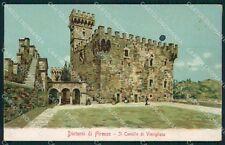 Firenze Fiesole Vincigliata Castello di MACCHIA cartolina XB2915