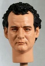 1:6 Custom Head of Bill Murray as Peter Venkman from the Ghostbusters films v1