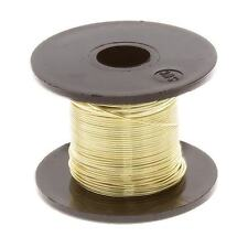 Champagne Gold Beading Copper Craft Wire 0.50mm 25 Metre Reel (C100/5)