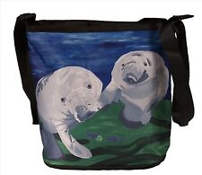 Manatee Small Cross Body Bag - Support  Wildlife Conservation, Read How!