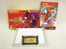 ROCKMAN ZERO 3 Megaman Game Boy Advance Nintendo Japan Game gba
