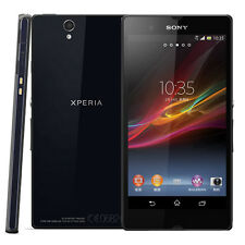 "Original Unlocked SmartPhone SONY Xperia Z C6603- 5.0"" 4G/3G Wifi 13.1MP Black"
