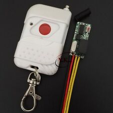 Door Opener Mini Remote Switch Small Volume Relay Receiver DC 12V 2A Switching