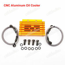 Gold Alloy Oil Cooler For Chinese YX Lifan BSE Kayo YCF Thumpstar Pit Dirt Bike
