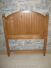Ethan Allen Twin Single Headboard Wheat Country Colors Arched Panel 14 5673
