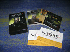 The witcher 2-des assassins of Kings (premium edition) pc énorme pièce de collection beaucoup