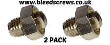 Radiator GENUINE BLEED SCREW AIR /  VALVE VENT NIPPLE  'MYSON' RADIATORS  2003