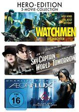 Aeon Flux / Sky Captain / Watchmen / 3-DVD`s / DVD / #3862