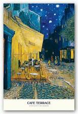 ART PRINT Cafe Terrace Poster Vincent van Gogh