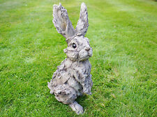 Vintage Outdoor Garden Statues Ornament Animal Hare Rabbit Sculpture Large 41cm