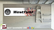 Westfield Cars Workshop Garage Banner Sport 250, Megabusa, Mega S2000,