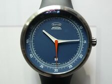 NEW IKEPOD MEGAPODE DATE MGD02 BLUE DIAL  , MARC NEWSON DESIGN