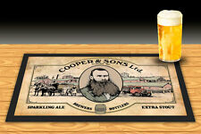 COOPERS BREWERY BEER  THOMAS COOPER BAR RUNNER MAT BEER MAT