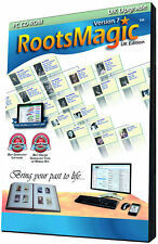 RootsMagic UK Version 7 Upgrade (Genealogy Software)