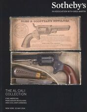 Sotheby's New York Catalogue The Al Cali collection percussion revolvers 2014 HB