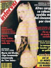 INTERVIU # 790 / ILONA STALLER CICCIOLINA 6 pages pictorial EMMA OZORES 3 pages