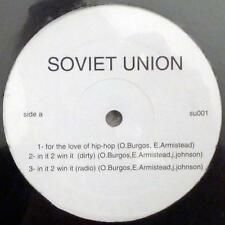"SOVIET UNION-for the love of hip hop/in it 2 win it~12"" SEALED RARE Philly Indie"