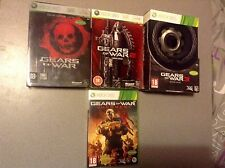 LOT Jeux Xbox 360/One Gears of war collector (En Très Bon) PAL FR