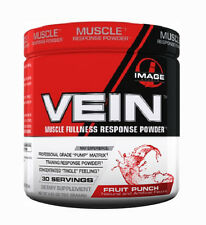 Image Sports Vein Fruit Punch Muscle Fullness Response Powder (Best by 05/2016)
