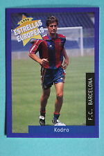 PANINI ESTRELLAS EUROPEAS 1996  N. 47 BARCELONA KODRO MINT!!!