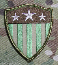 CAPTAIN AMERICA USA FLAG SHIELD ARMY MULTICAM BADGE VELCRO® BRAND FASTENER PATCH