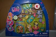 Littlest Pet Shop Store Exclusive PETS IN THE JUNGLE TIGER 1449,1450,1451,1452