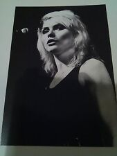 Debbie Harry Blondie Punk Small B&W Photo 11x8cm Ideal to Frame? Classic Rock
