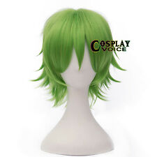 30cm Heat Resistant Layered Short Straight Basic Anime Cosplay Wig+Cap 8 Colors