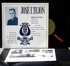 José Tejon : Ouv de Philoctète - Ave Maria japonais...José Tejon  CV & LP EX.