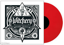 WITCHERY - IN HIS INFERNAL MAJESTY'S SERVICE, 2016 180G RED vinyl LP, 200 COPIES