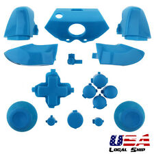 Matte Baby Blue Custom Full Buttons Set Dpad ABXY Guide For Xbox One Controller