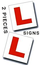 2 Pcs Magnetic Learner Driver Plate Exterior Car L Secure Safe Exterior Signs