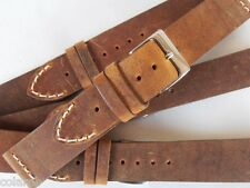 Cinturino pelle vintage ColaReb VENEZIA marrone 20mm watch band strap correa