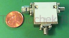 RF microwave single junction circulator 1825 MHz CF/  538 MHz BW/  40 Watt/ data