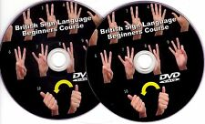 British Sign Language Course on TWO DVDs