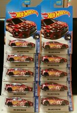 HOT WHEELS 2017 HW RACE TEAM 2008 LANCER EVOLUTION LOT OF 10 KMART EXCLUSIVE