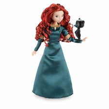 "2016 Disney Store Classic Merida Doll with Bear Cub 12"" NIB Brave"