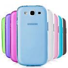 Handy hülle für Samsung Bumber Tasche Plastik Schutzhülle Etui Case Silikon
