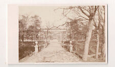 Vintage CDV Botanical Gardens Abbotsford Scottish Borders near Melrose