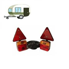 MAYPOLE 12V MAGNETIC LIGHTING POD WITH TRIANGLES AND 6M TRAILER CABLE MP44912
