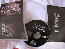 Violent Femmes -  No,  Let's start over - Gano & Ritchie & Shell & De Lorenzo