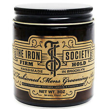 The Iron Society Old Fashioned Grooming Aid Firm Hold Pomade