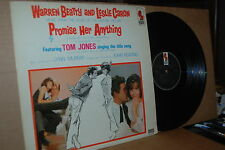 PROMISE HER ANYTHING: KAPP VG++ SOUNDTRACK LP NOT ON CD; TITLE SONG BY TOM JONES