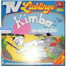 Kimba der Weisse Löwe  Osamu Tezuka Hörspiel Doppel LP KINDER KLASSSIKER