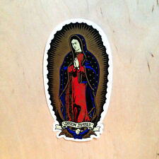 Santa Cruz Jason Jesse Mother Mary Jesus Guadalupe angel sticker