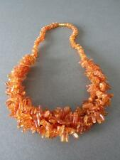 Vintage Natural Baltic Butterscotch Egg Yolk Honey Amber Bead Necklace